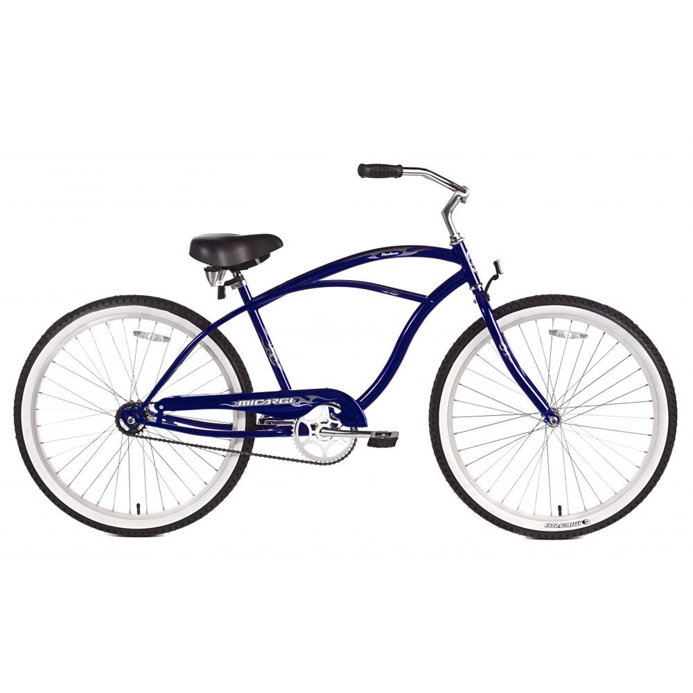 Micargi Dark Blue Pantera Beach Cruiser Male