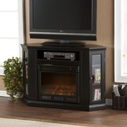 Southern Enterprises Essen Convertible Media Electric Fireplace-Black at Kmart.com