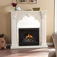 Southern Enterprises Pandora Gel Fireplace-Ivory at Kmart.com