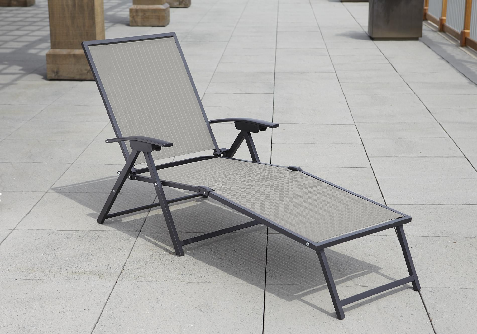 Attractive Garden Oasis Hinton Sling Folding Chaise