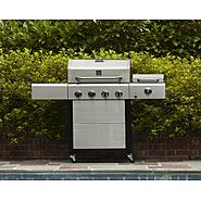 Kenmore 4 Burner Gas Grill with Steamer at Sears.com