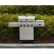 Kenmore 4 Burner Gas Grill with Steamer, Cover, & Accessories at Sears.com