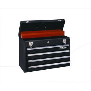 Craftsman 4-Drawer Metal Portable Chest - Black Wrinkle