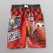 Disney Cars Toddler Boy's Swim Trunks - Lightning McQueen at Kmart.com