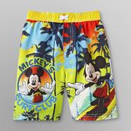 Disney Mickey Mouse Toddler Boy's Swim Trunks at Sears.com