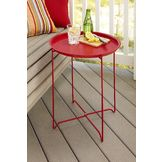 Garden Oasis Serving Tray Table - Red at mygofer.com