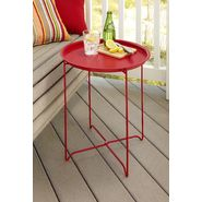 Garden Oasis Serving Tray Table - Red at Kmart.com
