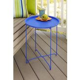 Garden Oasis Serving Tray Table - Blue at mygofer.com