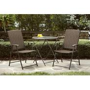 Light Folding Wicker Bistro Set Bundle at Kmart.com