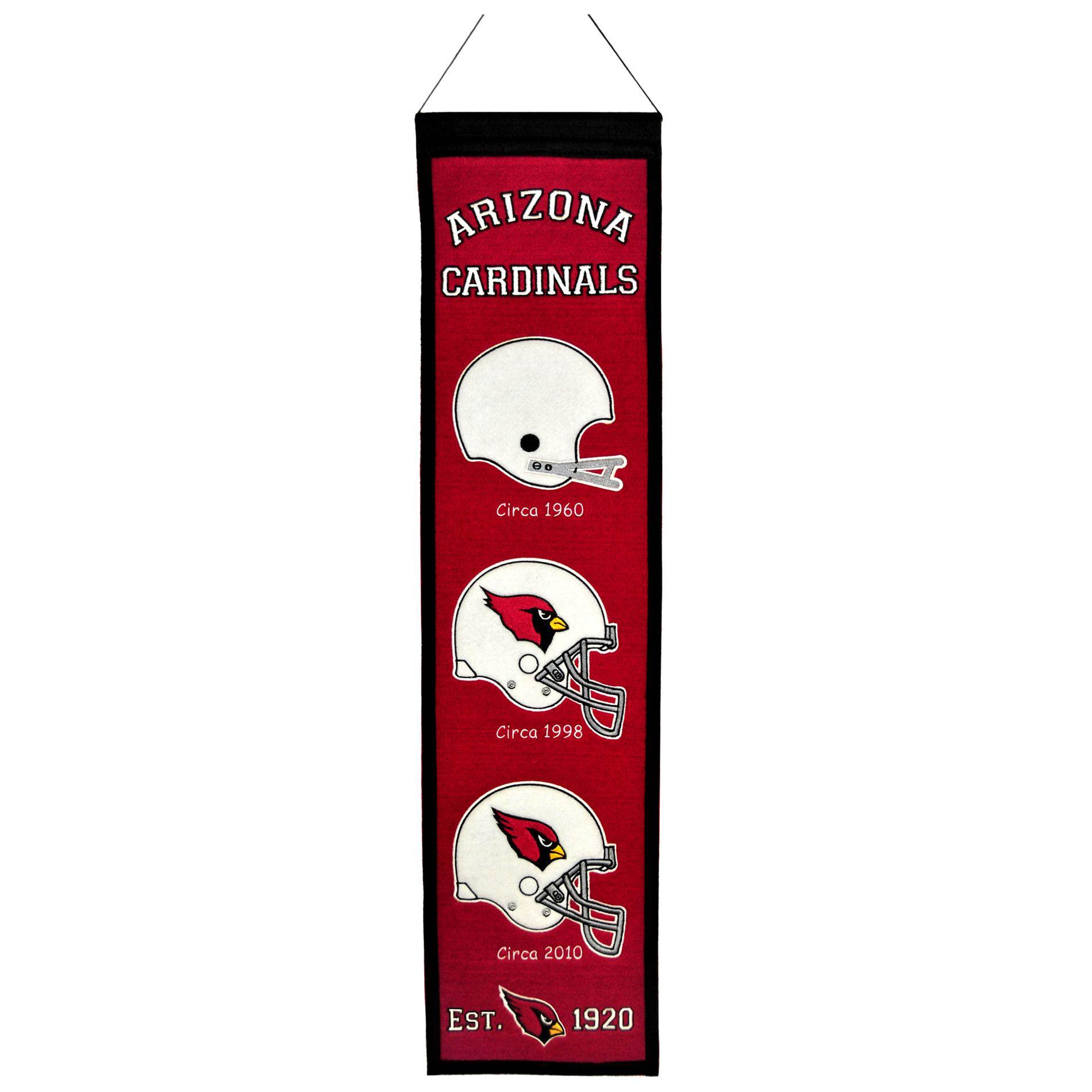 Winning Streak Arizona Cardinals Wool Heritage Banner