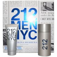 Carolina Herrera 212 by Carolina Herrera for Men - 2 Pc Gift Set 3.4oz EDT Spray, 3.4oz After Shave Gel at Kmart.com