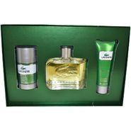 Lacoste Essential by Lacoste for Men - 3 Pc Gift Set 4.2oz EDT Spray, 1.6oz Shower Gel, 2.4oz Deodorant Stick at Kmart.com