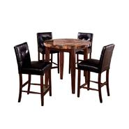 Venetian Worldwide Rockford I Round Counter Ht. Dining Table w/Faux Marble Top at Sears.com