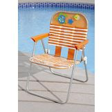 Garden Oasis Kiddie PVC Chair - Orange at mygofer.com