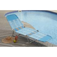 Garden Oasis PVC Chaise Lounge - Blue at Sears.com