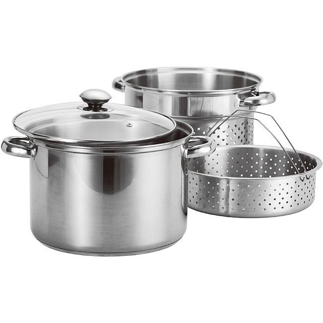 Imperial 4 Piece Pasta Cooker and Steamer Set