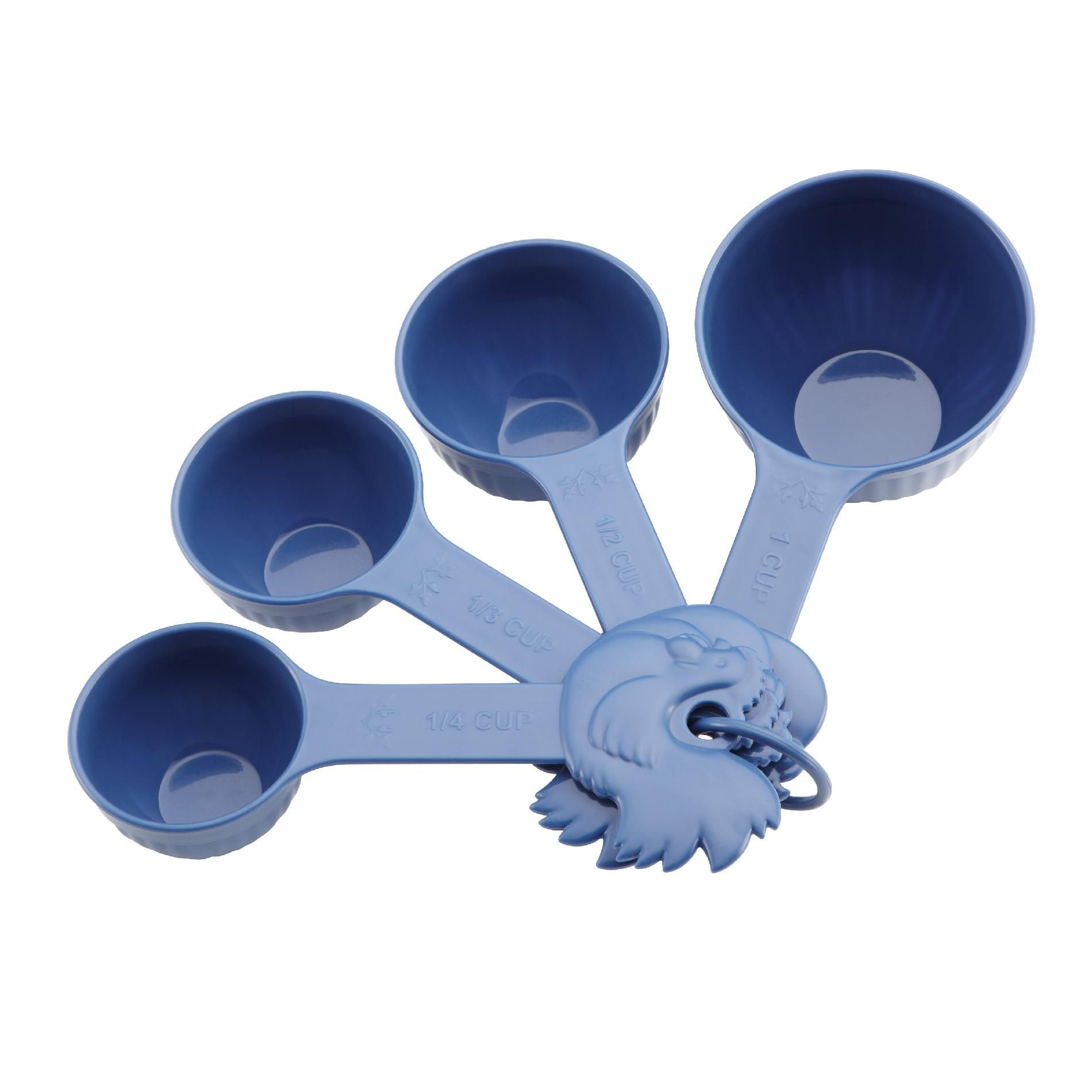4-Piece Measuring Cups, Blueberry