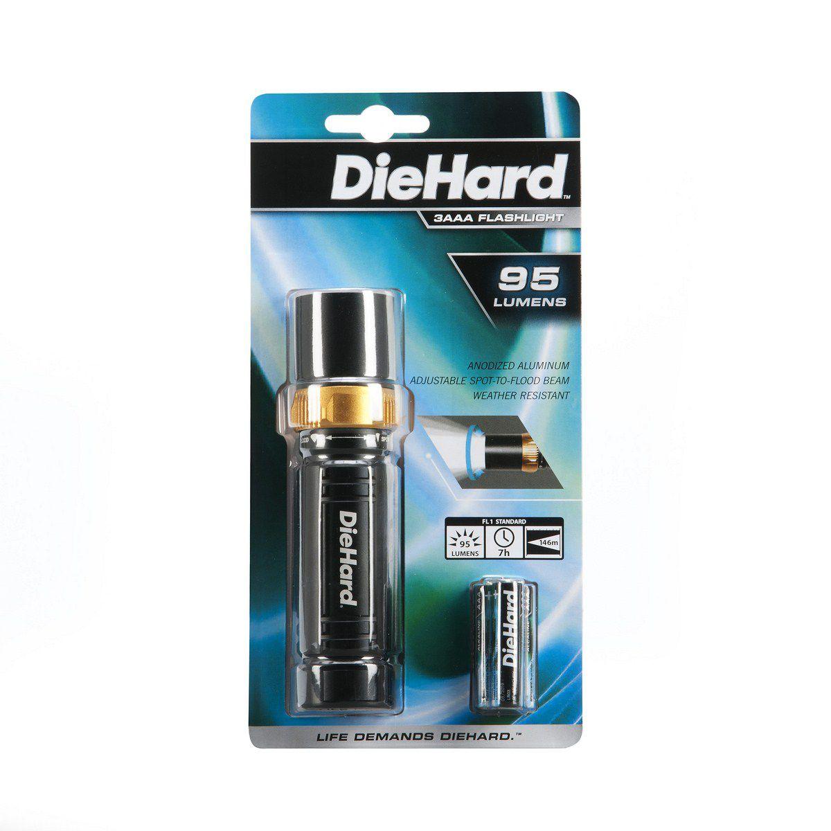 DieHard 3AAA Focusing LED DieHard Flashlight