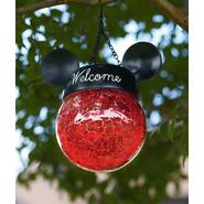 Disney Red Hanging Solar Light with Mickey Ears at Kmart.com