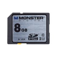 Monster 8GB SDHC Full Size SD Memory Card Class 10/UHS-1 at Kmart.com
