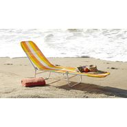 Garden Oasis Waffle Chaise - Orange Plaid at Sears.com