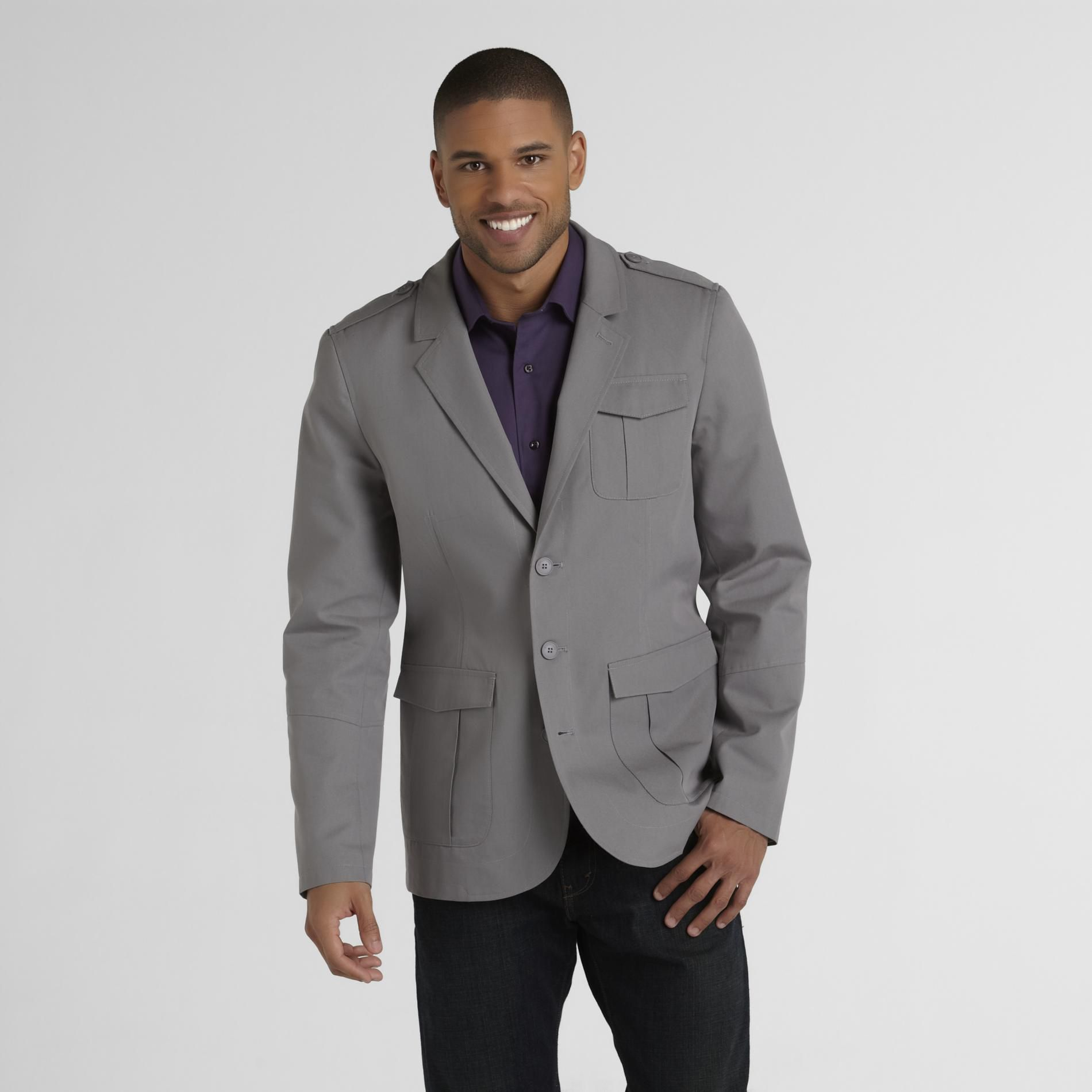 Structure Men's Military Style Sport Coat at Sears.com