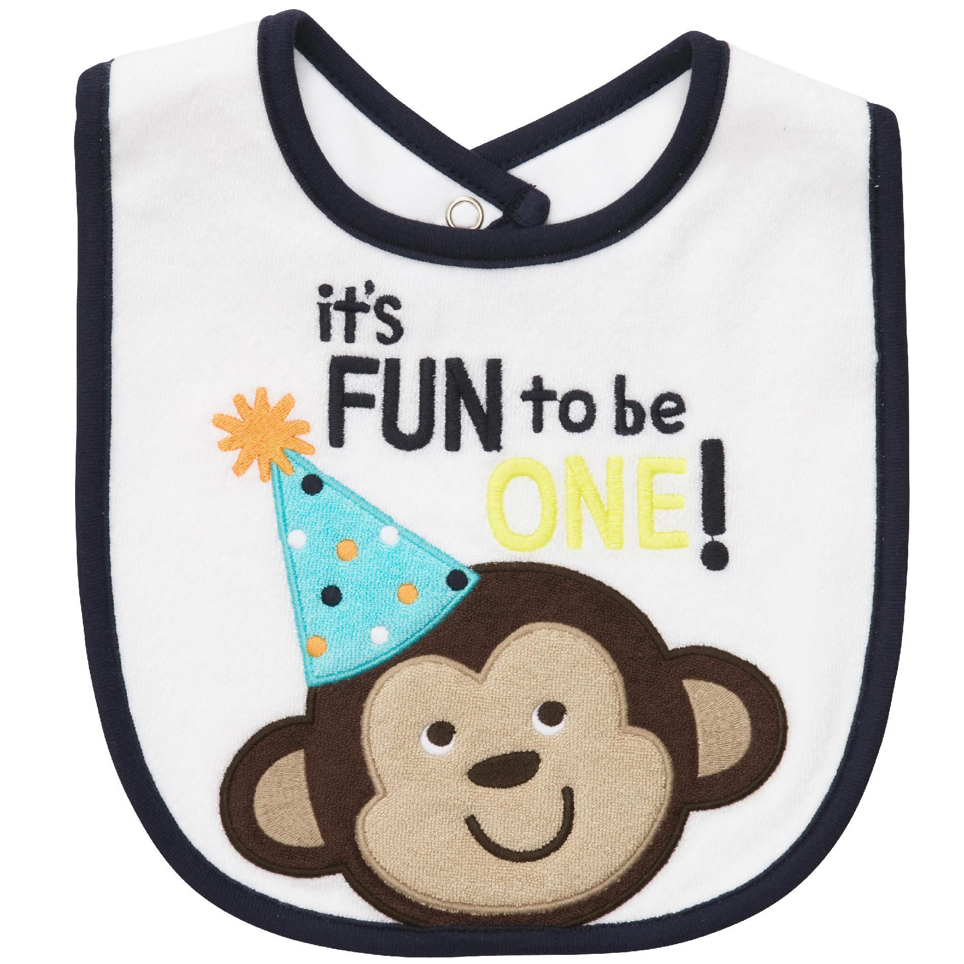 Carter's  Infant & Toddler Boy's Bib Monkey 'It's