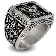 West Coast Jewelry Stainless Steel Royal Empire Shield Ring at Kmart.com