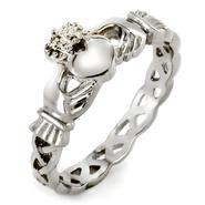 West Coast Jewelry Stainless Steel Celtic Eternity Claddagh Ring at Kmart.com