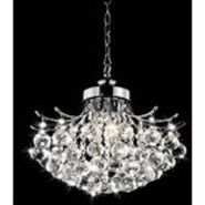 Warehouse of Tiffany Boadicea Crystal-Chrome Chandelier at Sears.com