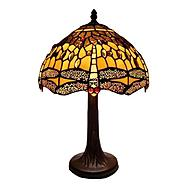 Warehouse of Tiffany Tiffany Style Amber Dragonfly Table Lamp at Sears.com