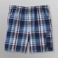 Little Wonders Infant Boy's Cargo Shorts - Plaid at Sears.com