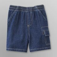 Toughskins Infant Boy's Denim Shorts - Medium Wash at Sears.com
