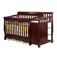 Dream On Me 4 in 1 Brody Convertible Crib with changer, Cherry at Sears.com