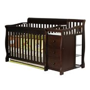 Dream On Me 4 in 1 Brody Convertible Crib with changer, Espresso at Kmart.com