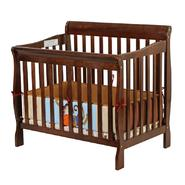Dream On Me, Aden Convertible 3 in 1 Mini Crib in Espresso at Kmart.com