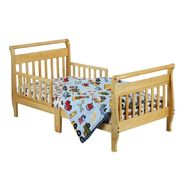 Dream On Me Sleigh Toddler Bed, Natural at Sears.com
