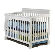 Dream On Me Dream On, Ashton Convertible 4 in Crib, White at Sears.com