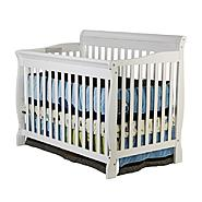 Dream On Me Dream On, Ashton Convertible 4 in Crib, White at Kmart.com
