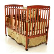 Dream On Me Bethany II, 2 in 1 Convertible Crib, Cherry at Kmart.com