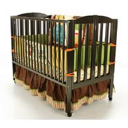 Dream On Me Full Size 2 Position Folding Crib Black at Kmart.com