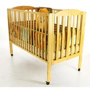 Dream On Me Full Size 2 Position Folding Crib Natural at Kmart.com