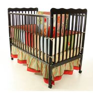 Dream On Me Classic 2 in 1 Convertible Crib Black at Sears.com
