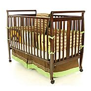 Dream On Me Bella II 2 in 1 Convertible Sleigh Crib Espresso at Sears.com