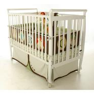 Dream On Me Bella II 2 in 1 Convertible Sleigh Crib White at Sears.com