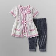 Little Lass Infant & Toddler Girl's Sweater, Shirt & Pants at Sears.com