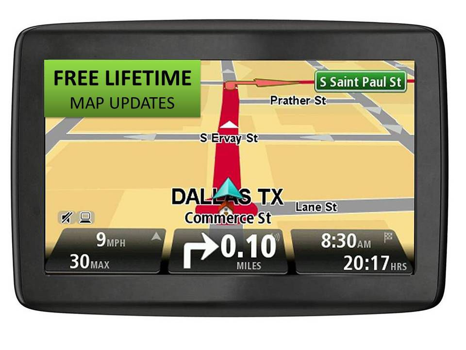 TomTom  Via 1500M 5'' Touchscreen GPS -