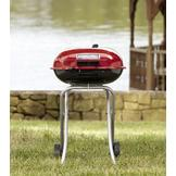 BBQ Pro 18in Foldable Grill with Deep Width - Red at mygofer.com