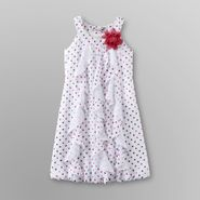 Speechless Girl's Ruffle Dress - Metallic Polka Dot at Sears.com