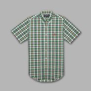 US Polo Assn. Men's Shirt Button-Front Short Sleeve Plaid at Sears.com